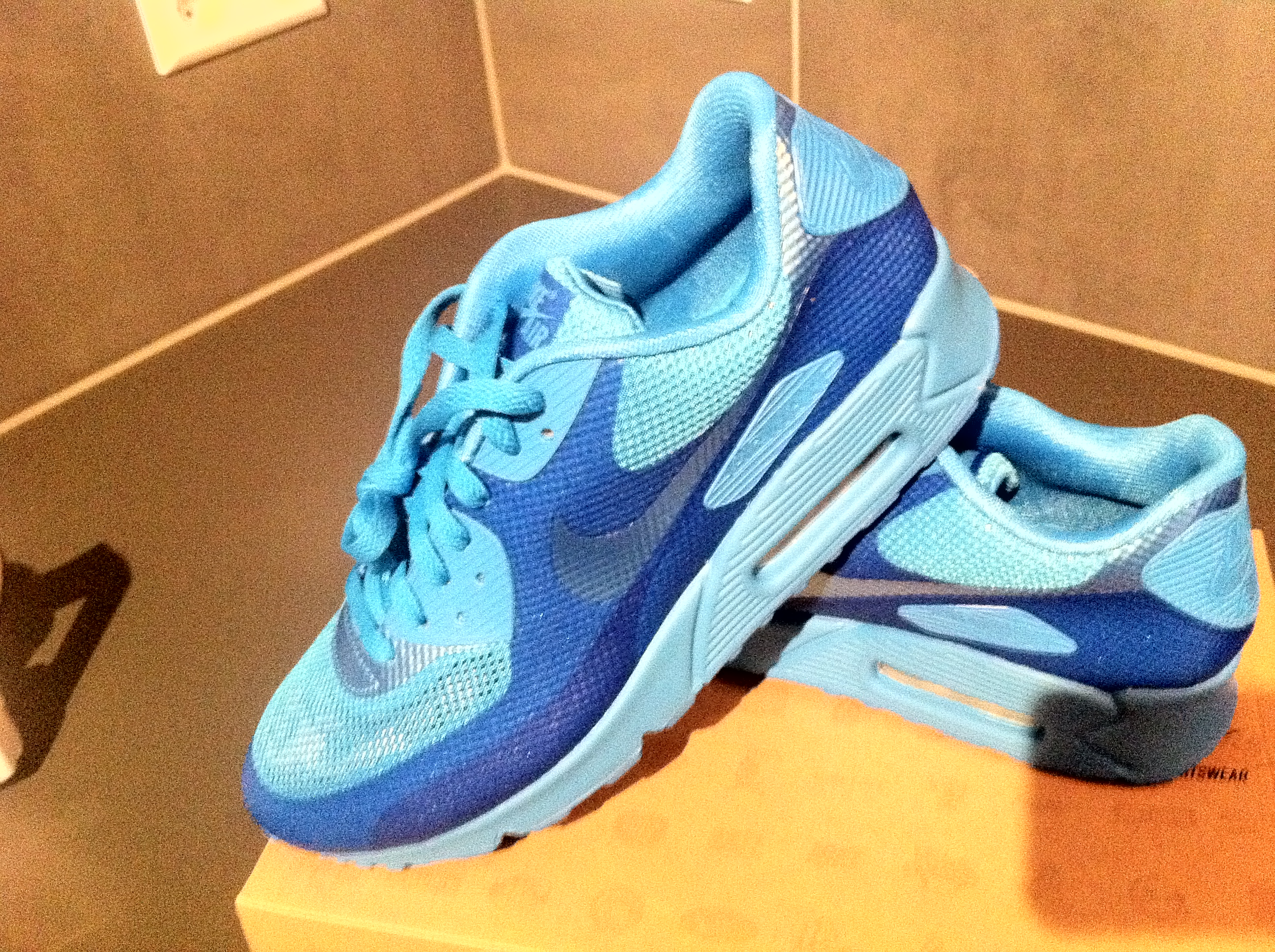 Air Max 90 Hyperfuse Blue Glow